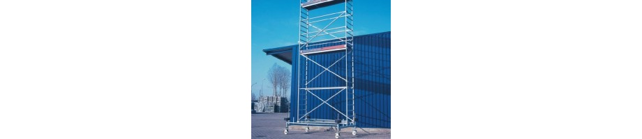 Mobile Scaffolding (aluminium)
